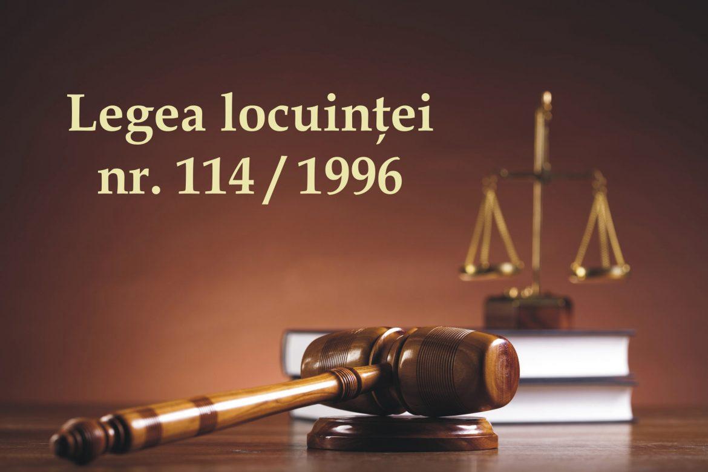 Legislatie - Legea locuintei