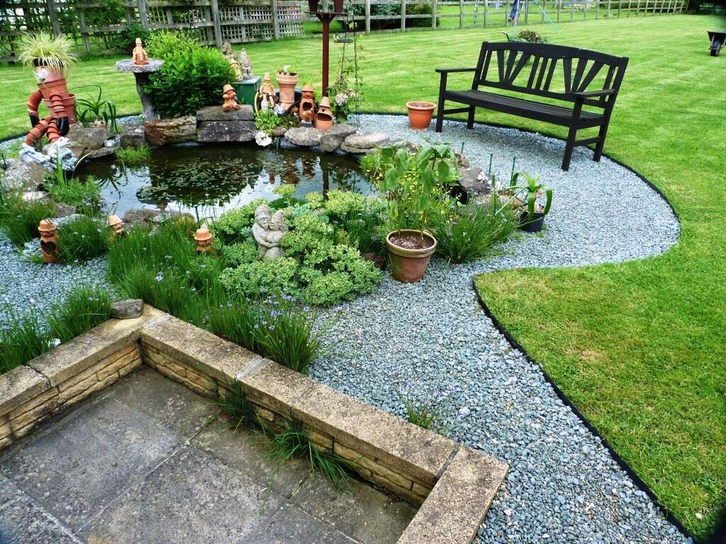 bordurile din grădină