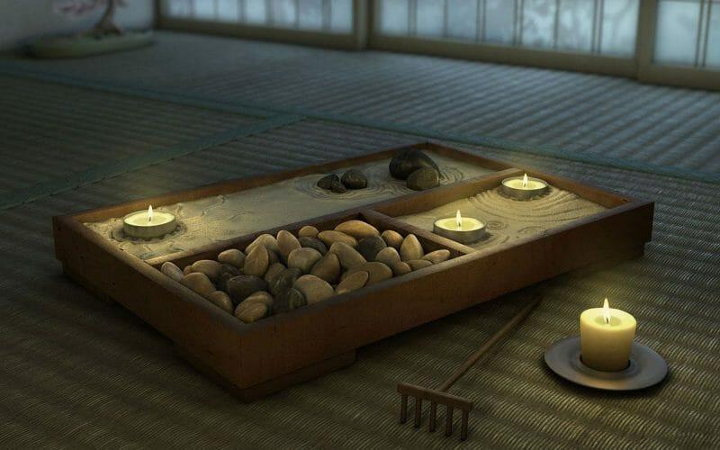 ambianta dormitor zen