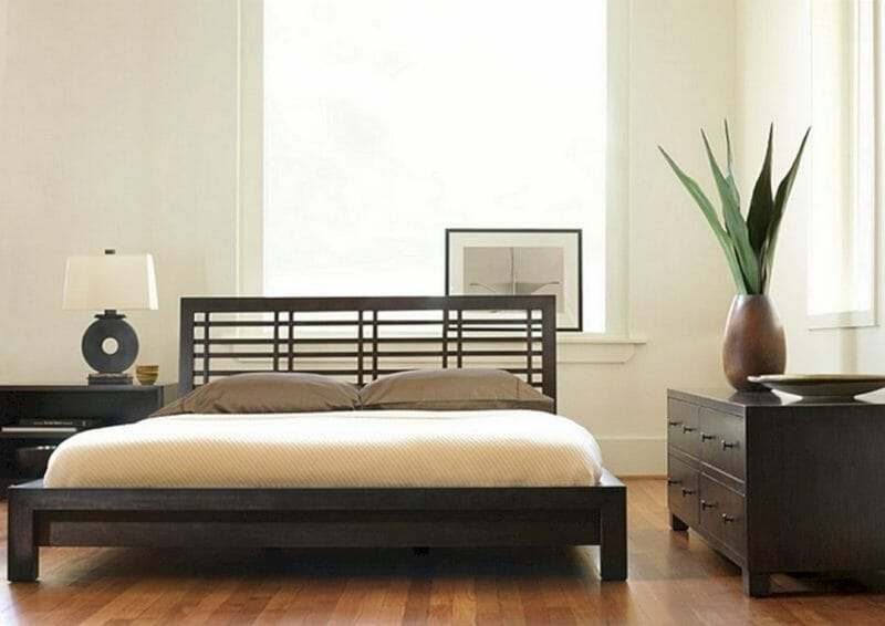 amenajare dormitor zen