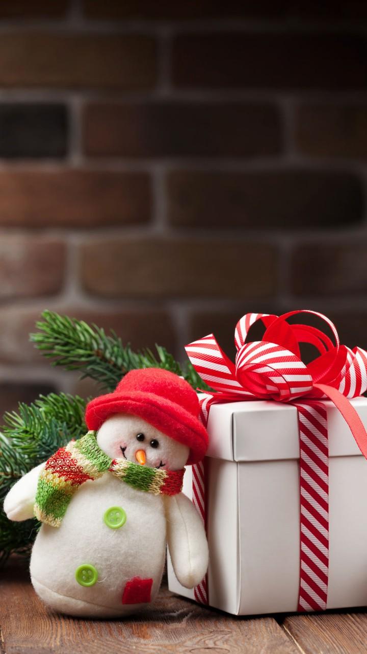Aranjament Crăciun cu om de zăpadă - Mobil