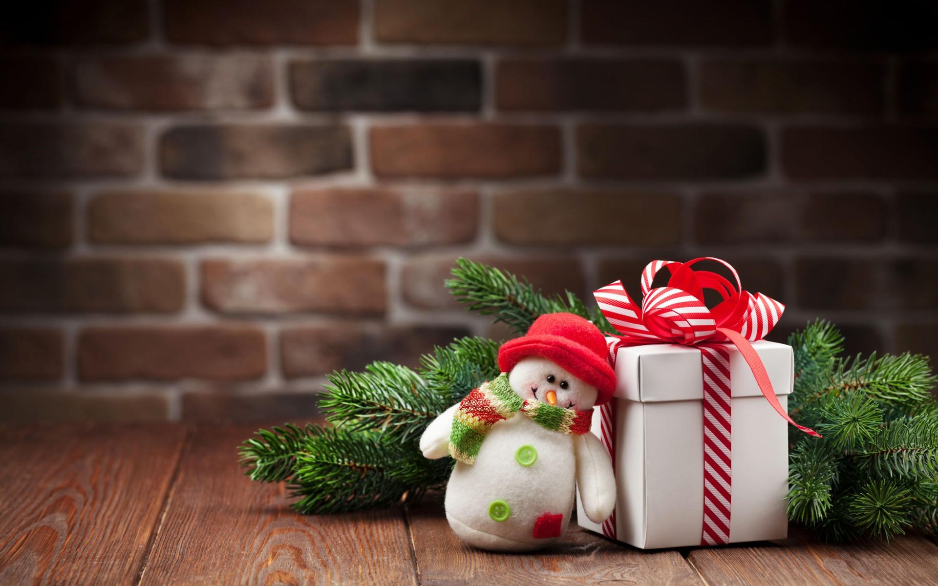 Aranjament Crăciun cu om de zăpadă