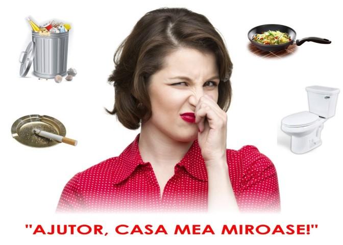 mirosurile neplăcute din casă