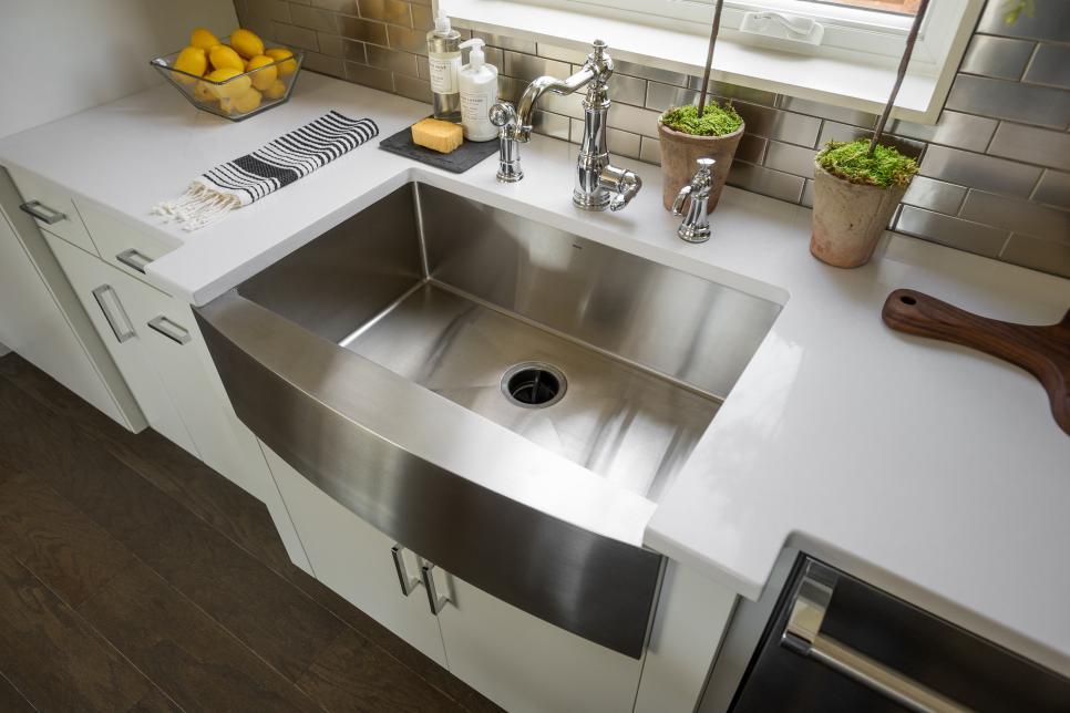 размеры кухонных моек
