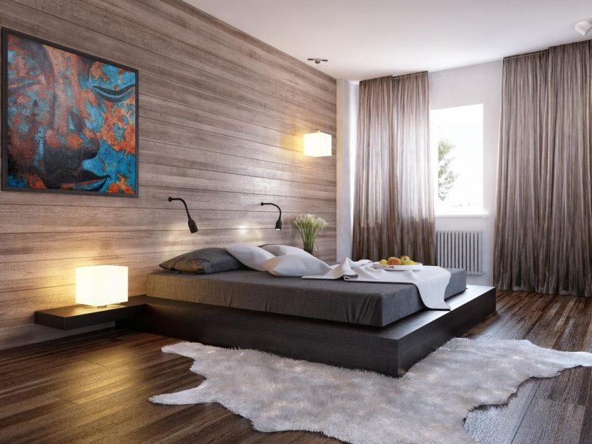 decor minimalist pentru dormitor