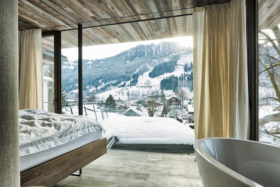 pozitionarea patului pentru panorama