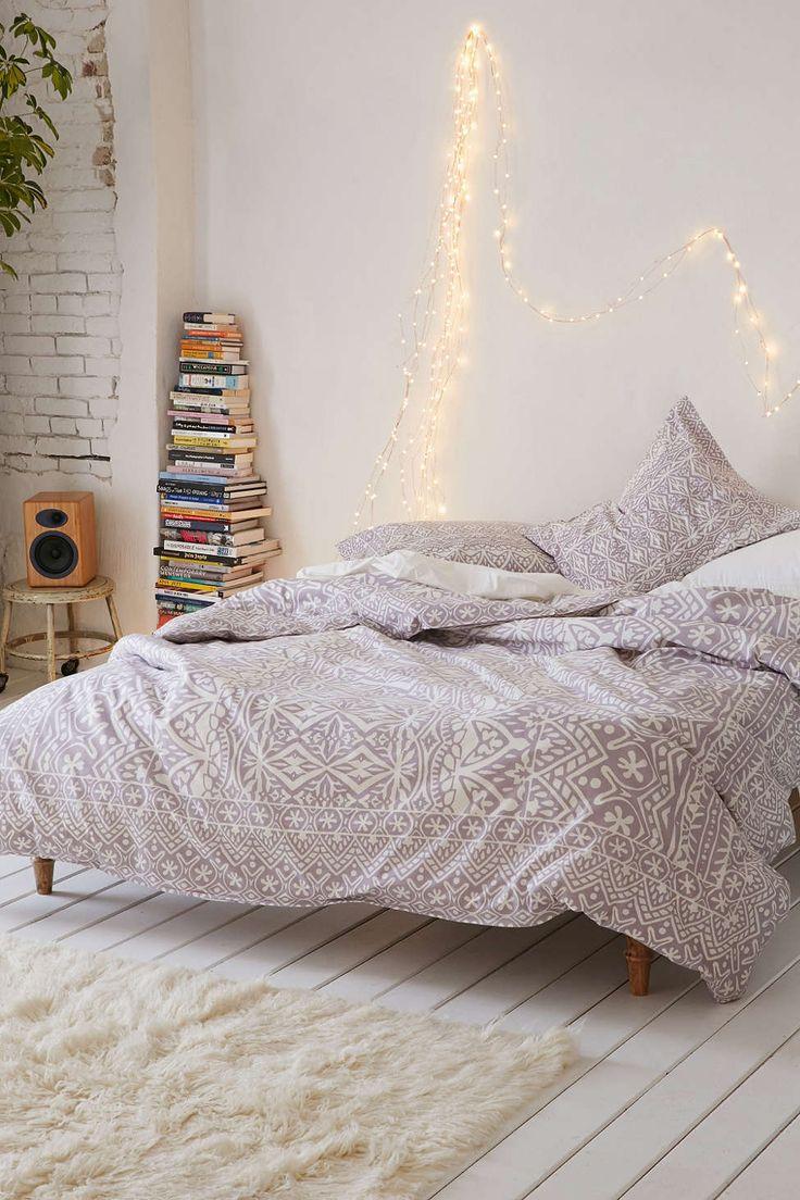 dormitor boho chic