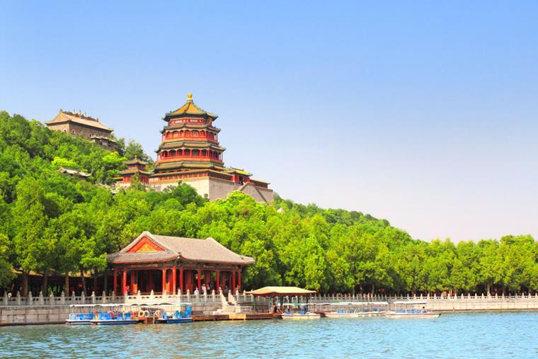 Grădinile imperiale ale Palatului de Vară, Beijing