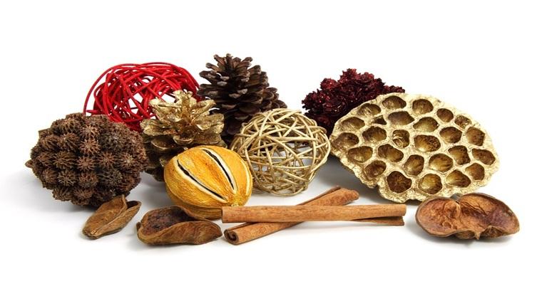 Decoratiune handmade: boluri aromate