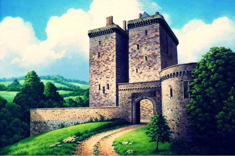 Castelul Borthwick – Edinburg, Scoția