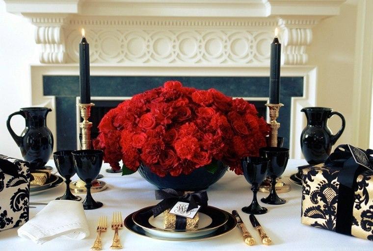 Classic Red Decoratiune interioara Revelion