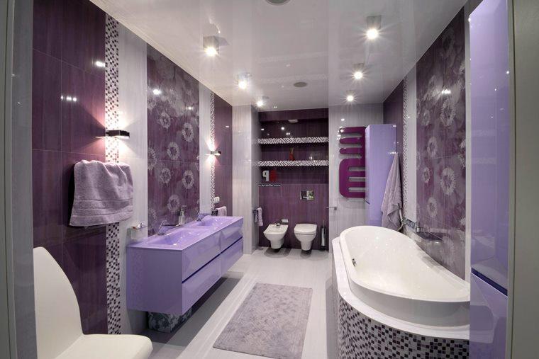 Culoare 2018 baie violet