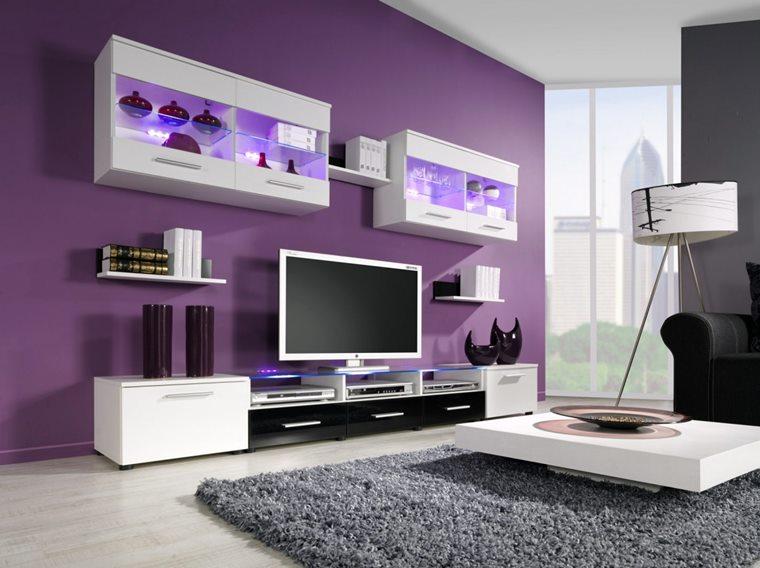 Culoare 2018 violet living