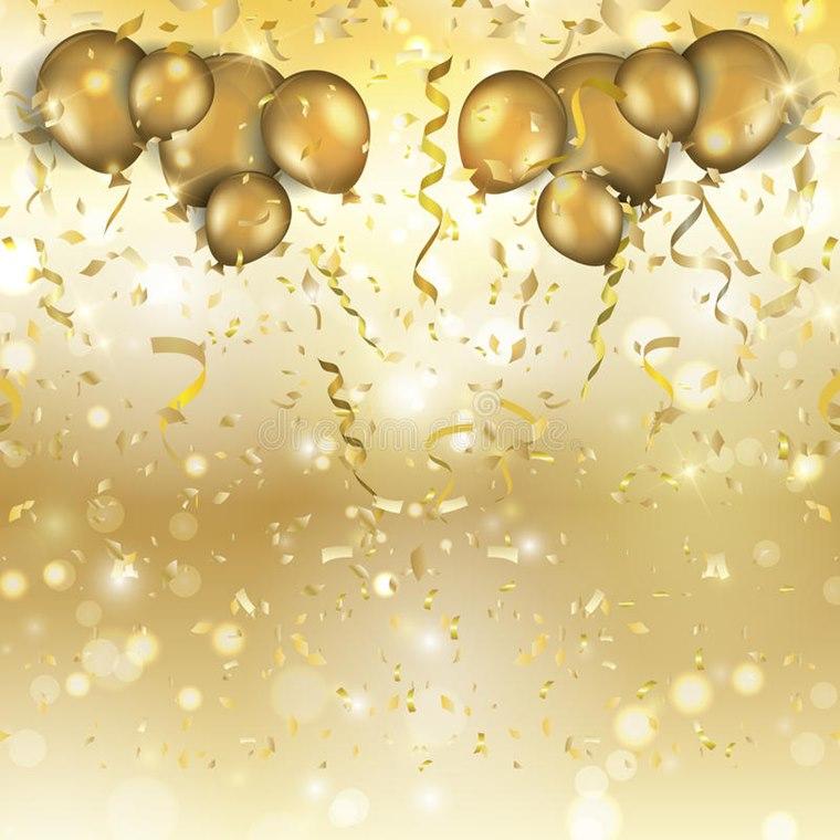 Decoratiune Golden Night Revelion