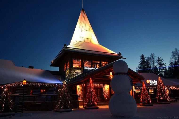 Hotelul lui Moș Crăciun – Rovaniemi, Finlanda