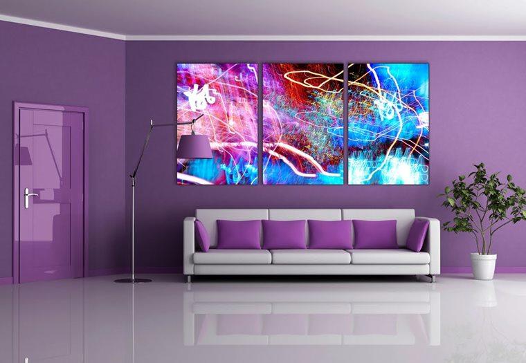Ultra violet decor