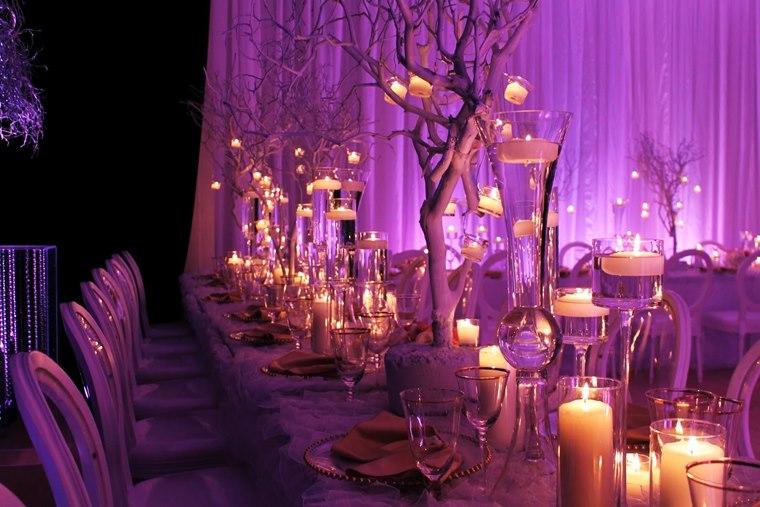 Violet Dream Decoratiune interioara Revelion