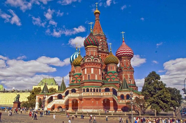 Catedrala Sf. Vasile, Rusia