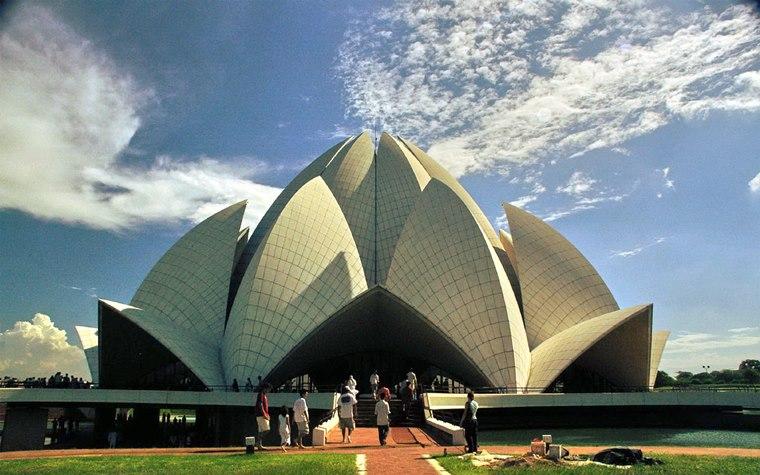 Templul Lotus, New Delhi - Cladire uimitoare