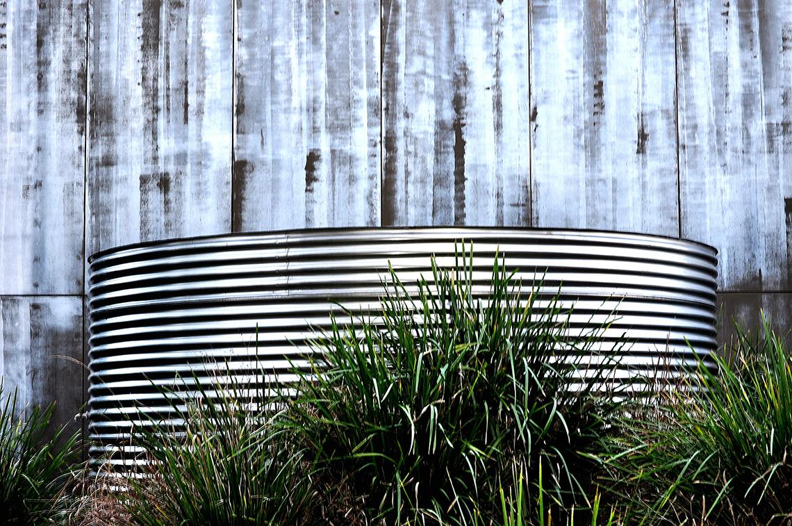 Rezervor metalic din otel ondulat pentru înmagazinarea apei