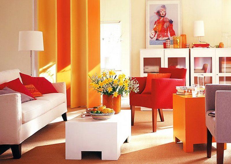 Cum să decorezi locuinţa cu portocaliu