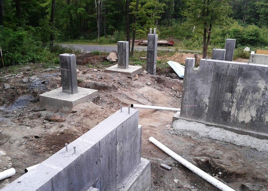 despre fundația unei case