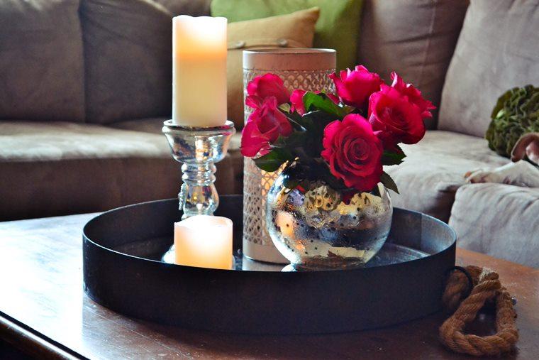 Decoratiuni romantice pentru Valentine's Day
