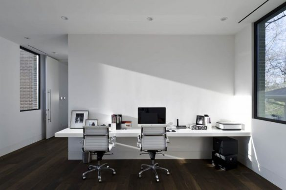 birou de perete