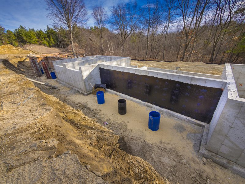 hidroizolarea fundației