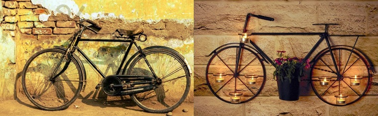 bicicleta rustic
