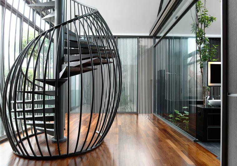 scări interioare spectaculoase