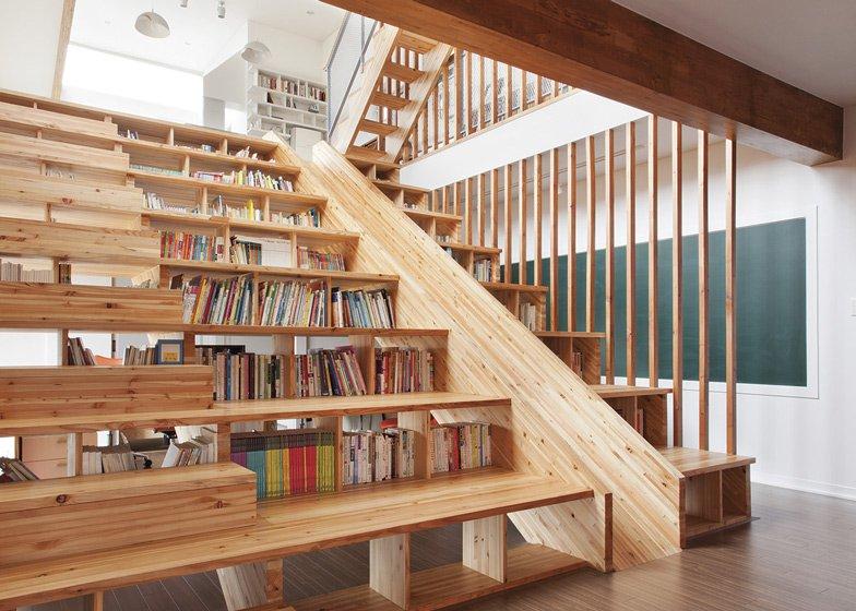 Scările Interioare Moderne Amenajate Spectaculos Edifica