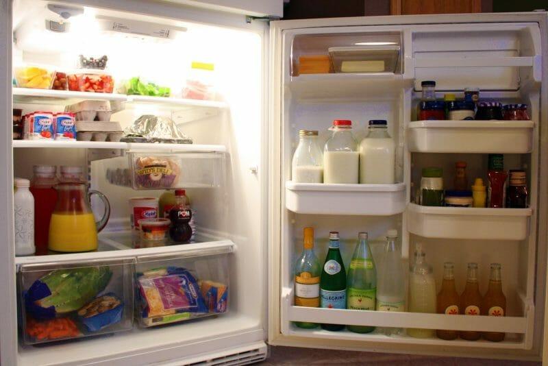 frigider organizat