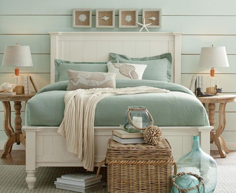 decorul marin din dormitor