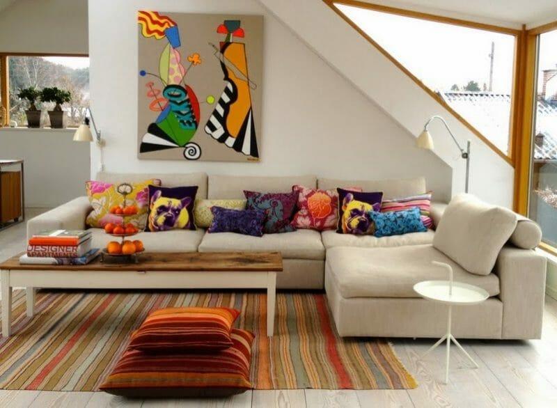 culori in sufragerie
