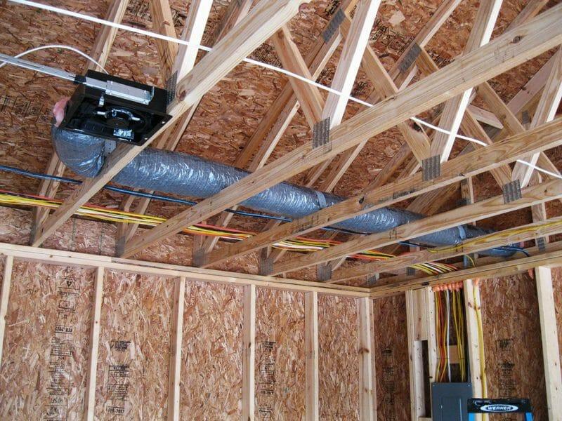 Tub izolat pentru ventilația garajului