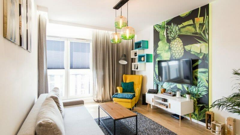 amenajare apartament de 40 mp