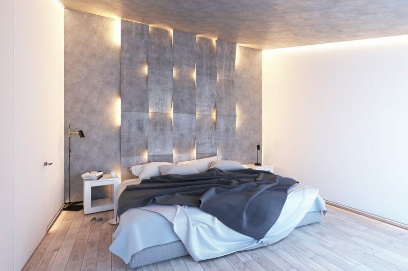 sisteme de iluminare ascunse în pereţi