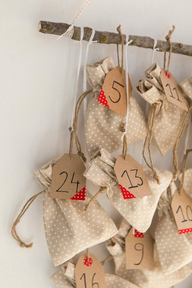 calendarul de advent diy