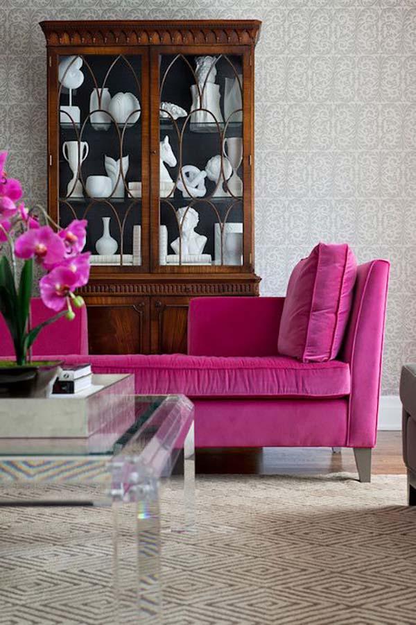 Cum combinăm culoarea roz fucsia pentru un decor îndrăzneţ