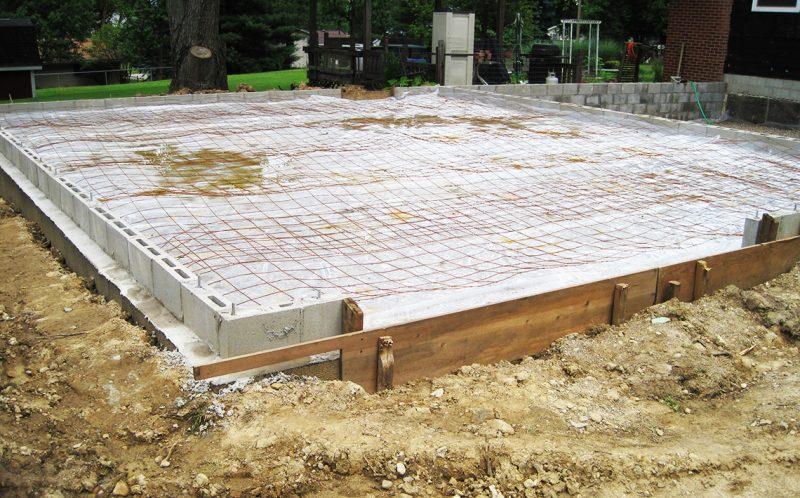 Pregatire turnare pardoseala beton
