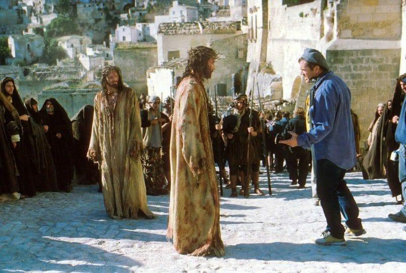 Mel Gibson la Matera
