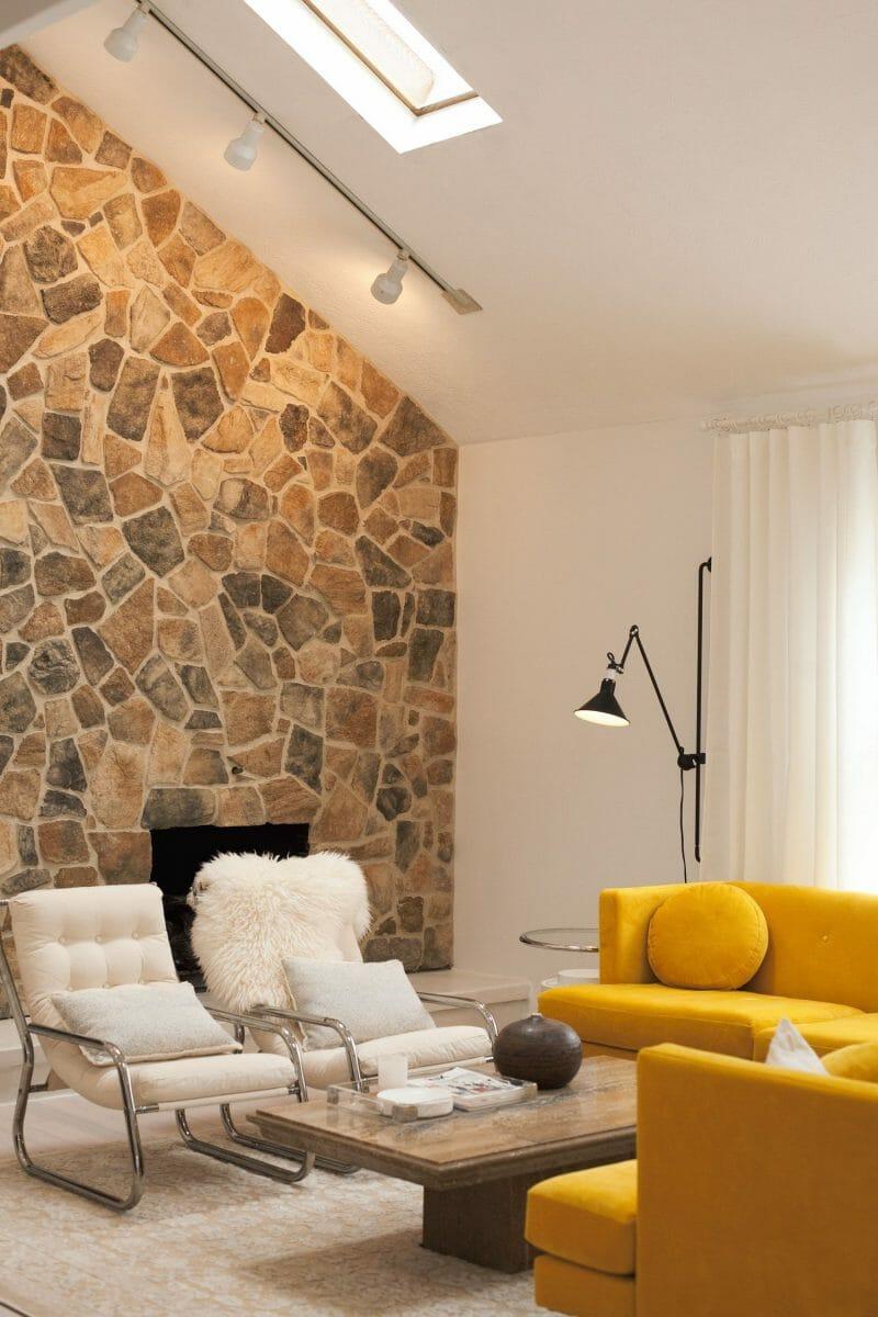 pereţi din piatră