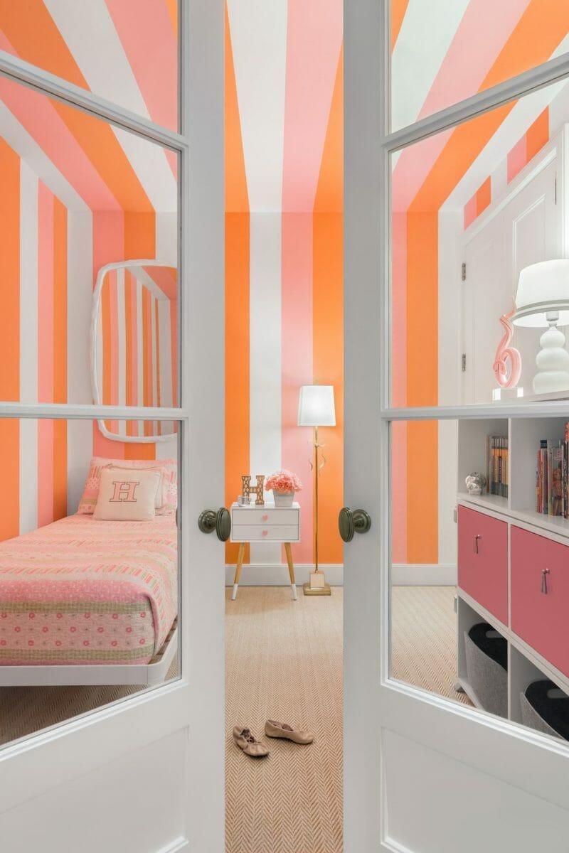 coral in designul interior