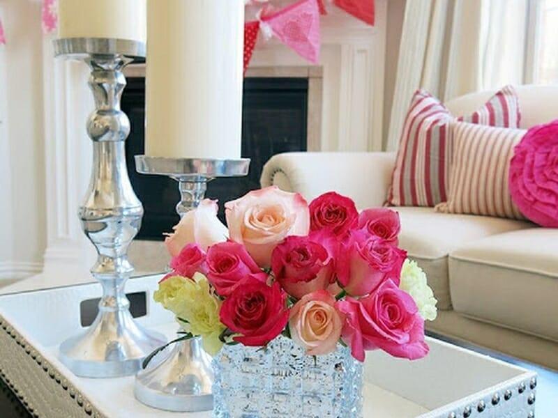 decoraţi locuinţa de Valentine's Day