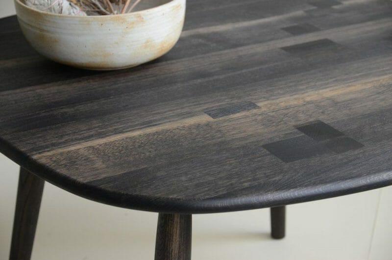 mobilier din stejar oxidat