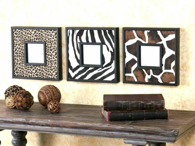 decoratiuni animal print