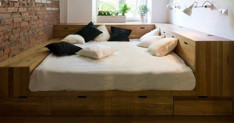 spatiu de stocare dormitor