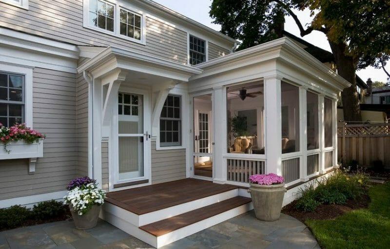 amenajarea verandei