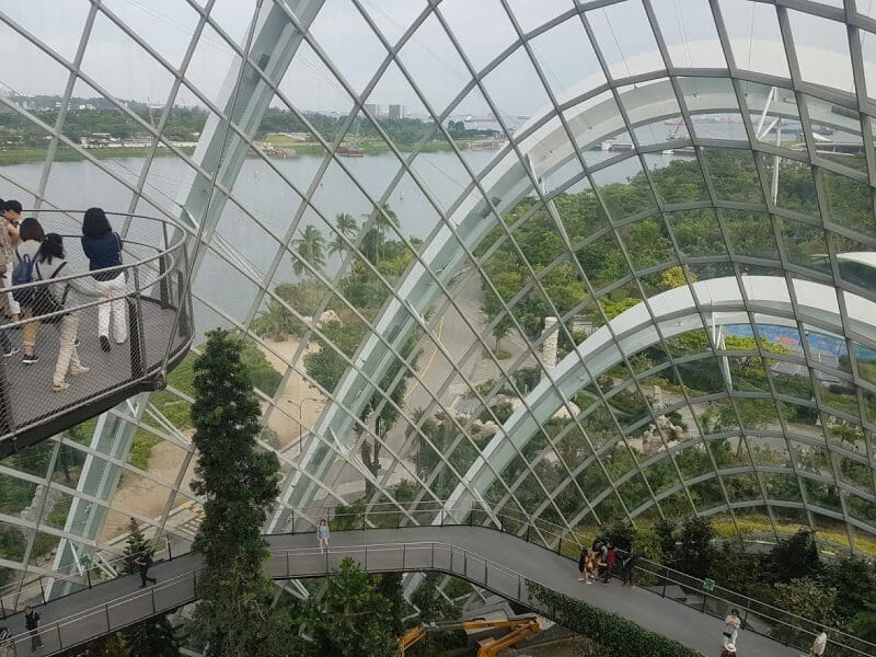 Cloud Forest Dome Singapore ETFE